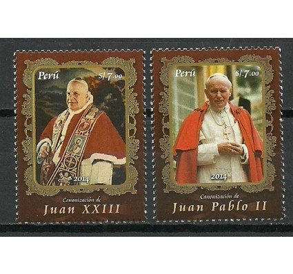 Peru 2014 Mi 2676-2677 Czyste **