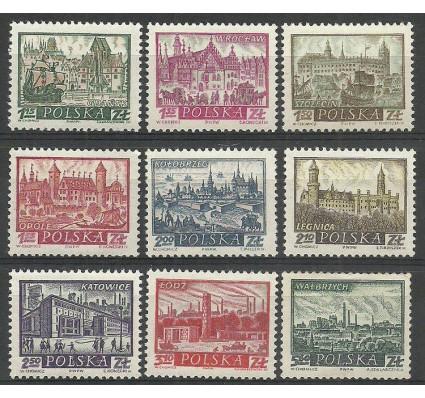Znaczek Polska 1960 Mi 1209-1217 Fi 1053-1061 Czyste **