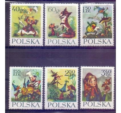 Znaczek Polska 1962 Mi 1364-1369 Fi 1216-1221 Czyste **