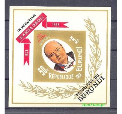 Burundi 1967 Mi bl 21B Czyste **