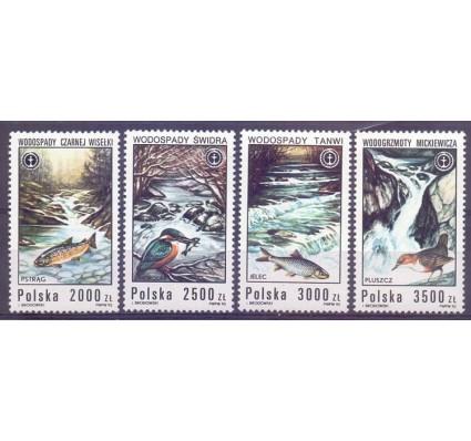 Polska 1992 Mi 3379-3382 Fi 3231-3234 Czyste **
