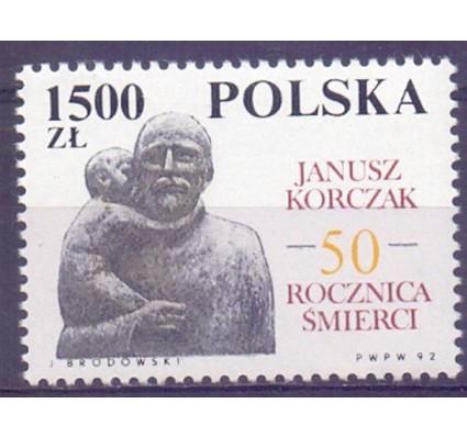 Znaczek Polska 1992 Mi 3393 Fi 3245 Czyste **