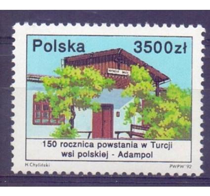 Znaczek Polska 1992 Mi 3398 Fi 3250 Czyste **