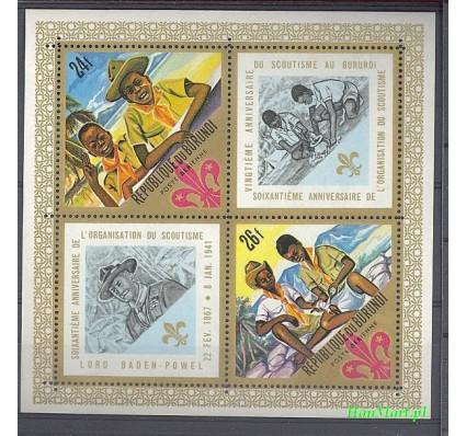 Burundi 1968 Mi bl 25 Czyste **