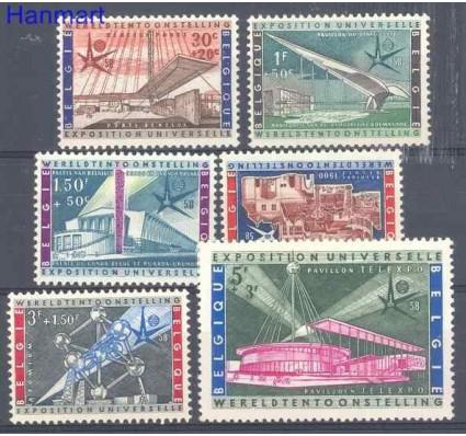 Znaczek Belgia 1958 Mi 1094-1099 Czyste **