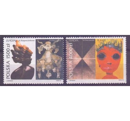 Znaczek Polska 1993 Mi 3445-3446 Fi 3297-3298 Czyste **