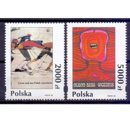 Znaczek Polska 1993 Mi 3475-3476 Fi 3327-3328 Czyste **