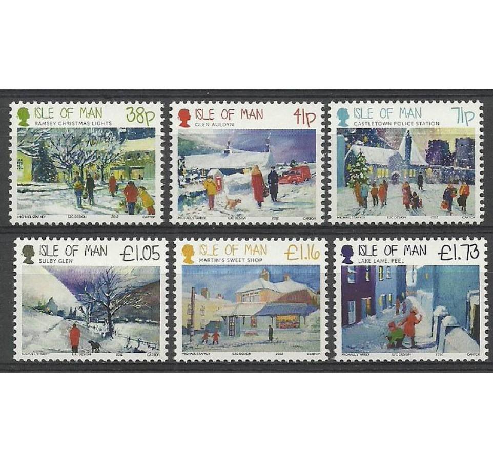 Wyspa Man 2012 Mi 1808-1813 Czyste **