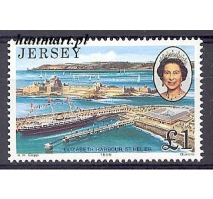 Znaczek Jersey 1989 Mi 484 Czyste **