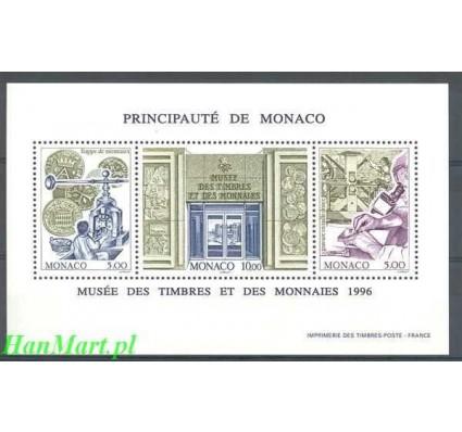 Znaczek Monako 1996 Mi bl 70 Czyste **