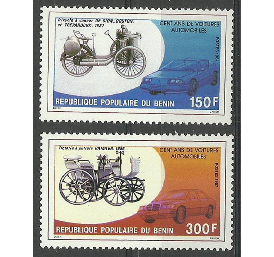 Benin 1967 Mi 454-455 Czyste **