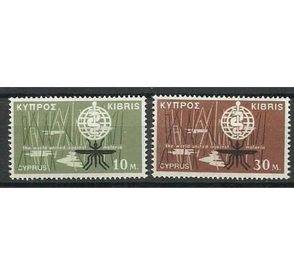 Cypr 1962 Mi 200-201 Czyste **