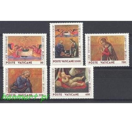 Znaczek Watykan 1990 Mi 1018-1022 Czyste **