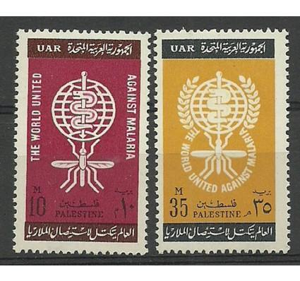 Palestyna - Egipt 1962 Mi 119-120 Czyste **