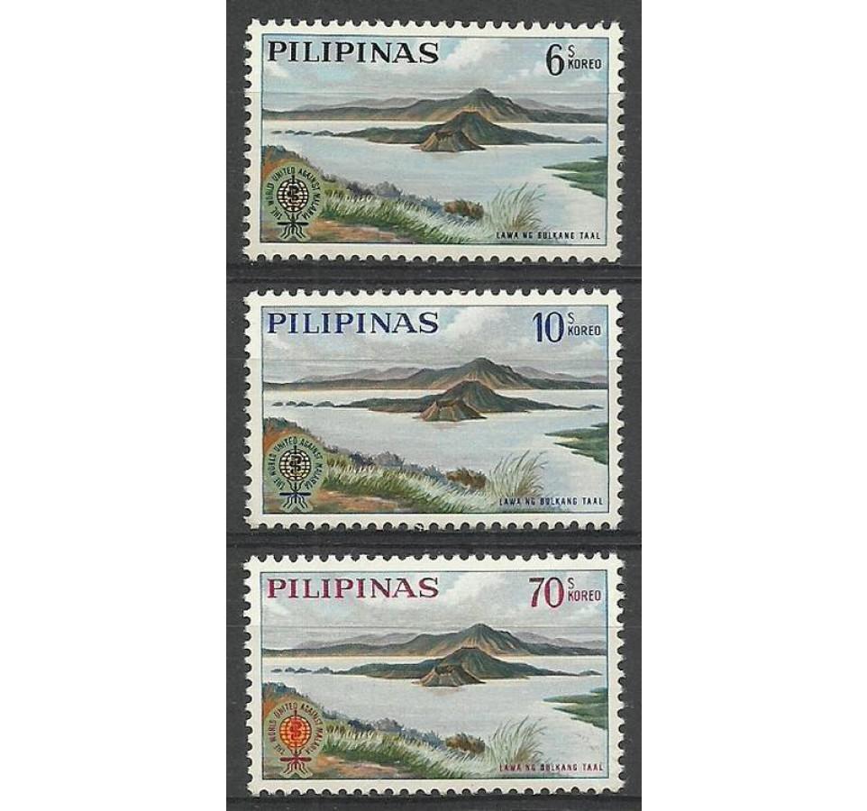 Filipiny 1962 Mi 710-712 Czyste **