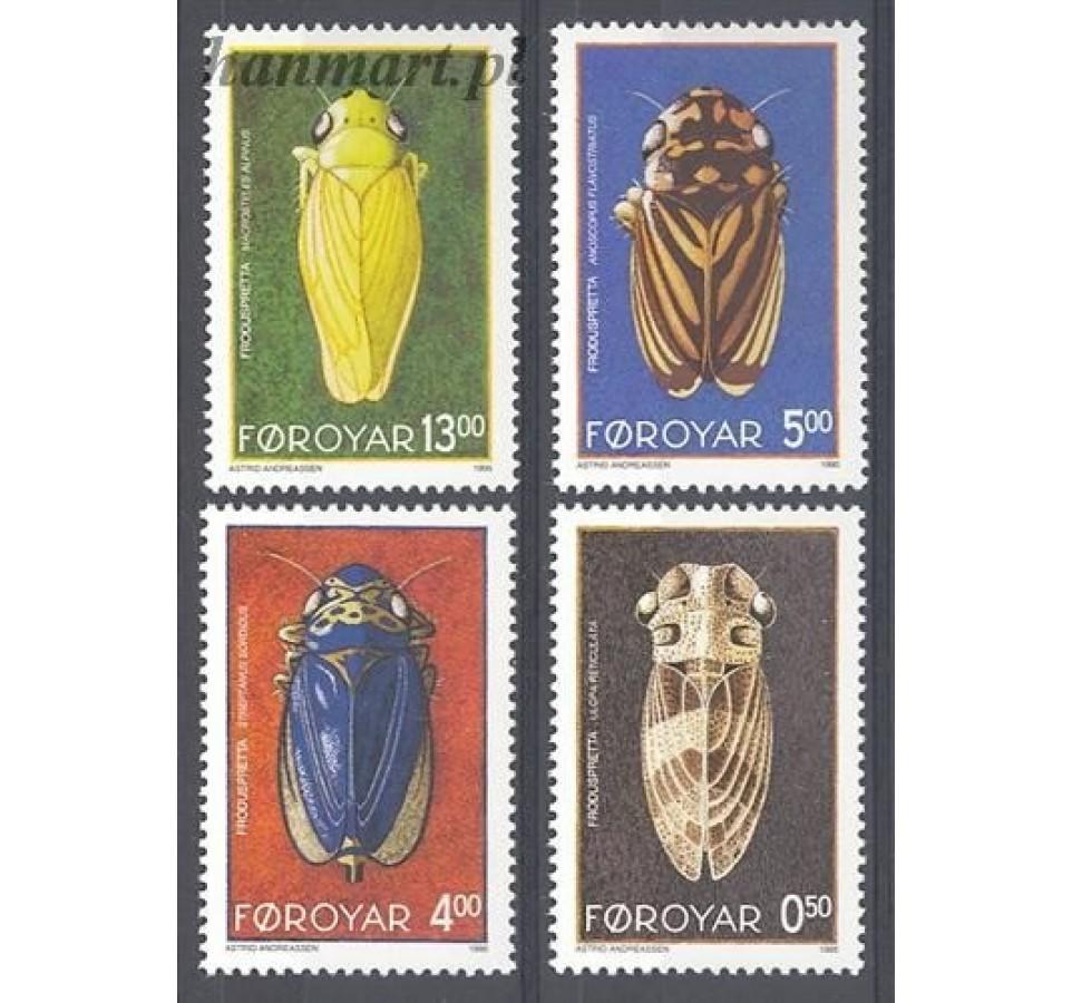 Wyspy Owcze 1995 Mi 272-275 Czyste **
