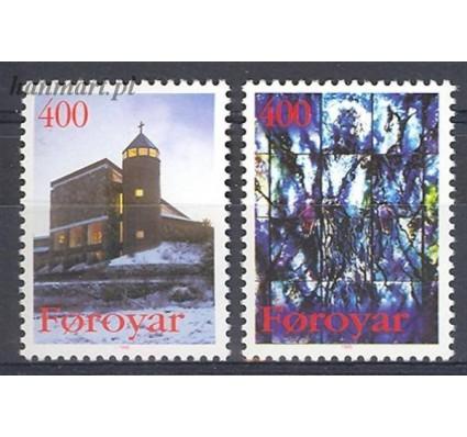 Znaczek Wyspy Owcze 1995 Mi 289-290 Czyste **