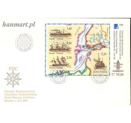 Znaczek Finlandia 1986 Mi bl 2 FDC
