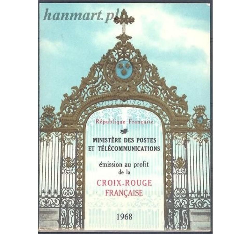 Francja 1968 Mi mh 1647-1648 Czyste **