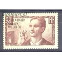 Francja 1938 Mi 436 Z podlepką *