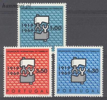 Znaczek Portugalia 1969 Mi 1076-1078 Czyste **