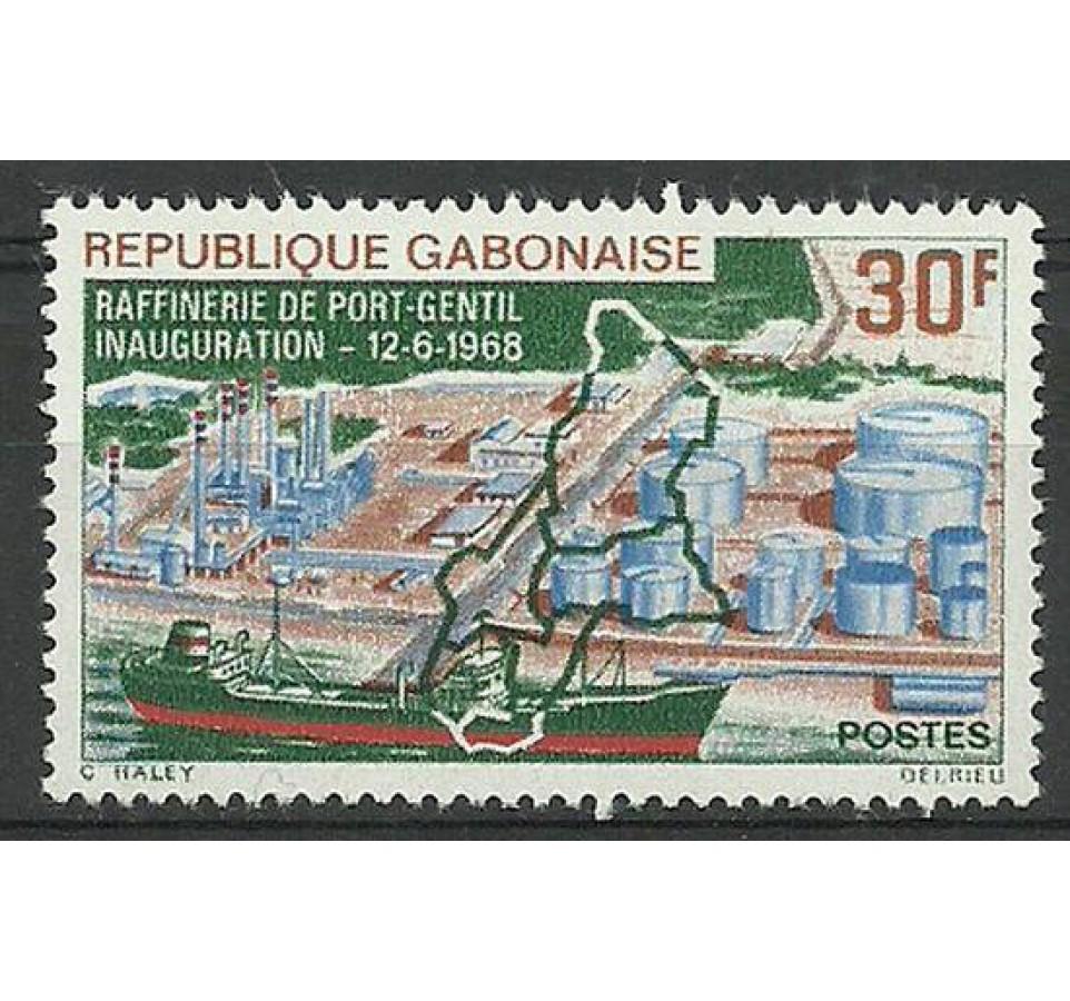 Gabon 1968 Mi 305 Czyste **