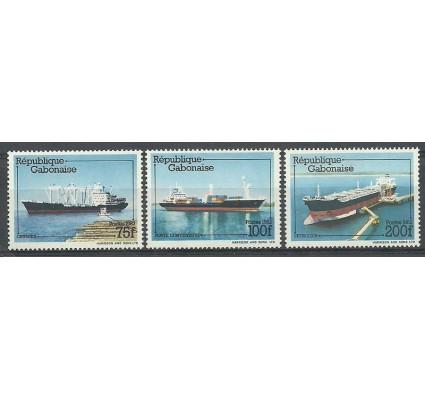 Gabon 1982 Mi 818-820 Czyste **