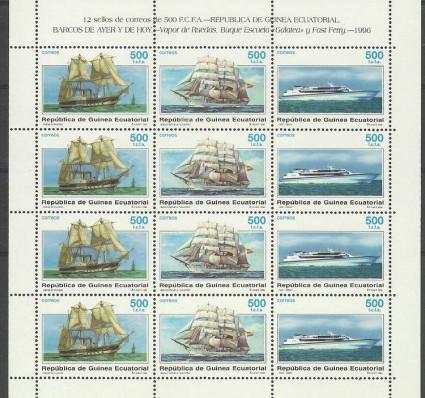 Gwinea Równikowa 1996 Mi ark 1826-1828 Czyste **