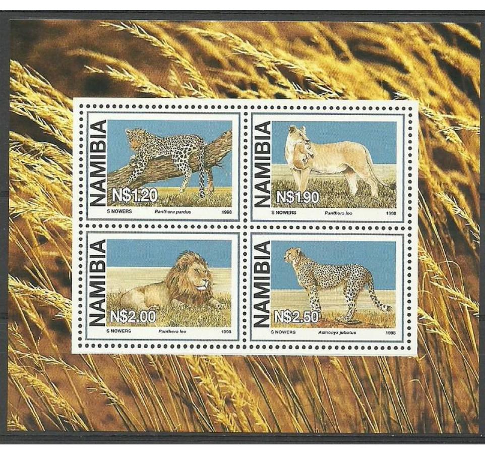 Namibia 1998 Mi bl 37 Czyste **