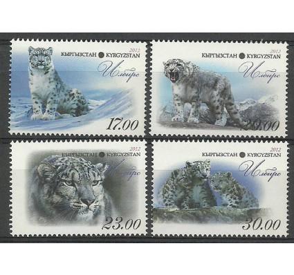 Znaczek Kirgistan 2012 Mi 717-720 Czyste **