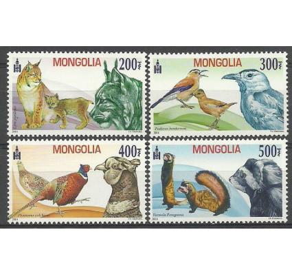 Znaczek Mongolia 2014 Mi 3901-3904 Czyste **