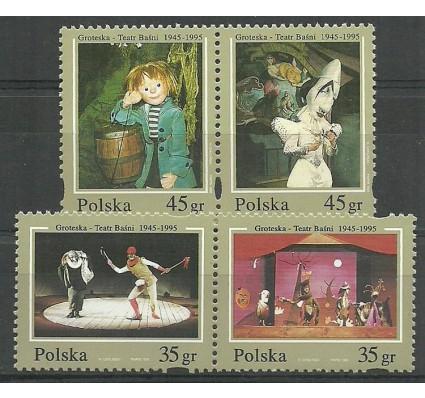 Znaczek Polska 1995 Mi 3537-3540 Fi 3389-3392 Czyste **