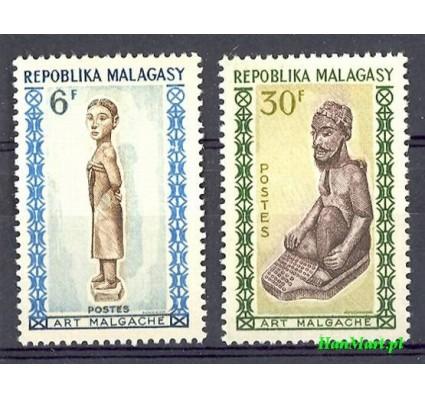 Madagaskar 1964 Mi 523-524 Czyste **