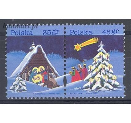 Polska 1995 Mi 3565-3566 Fi 3417-3418 Czyste **