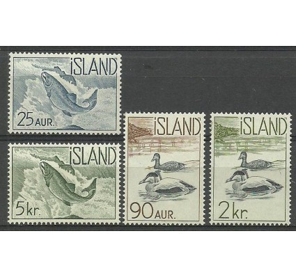 Islandia 1959 Mi 335-338 Czyste **