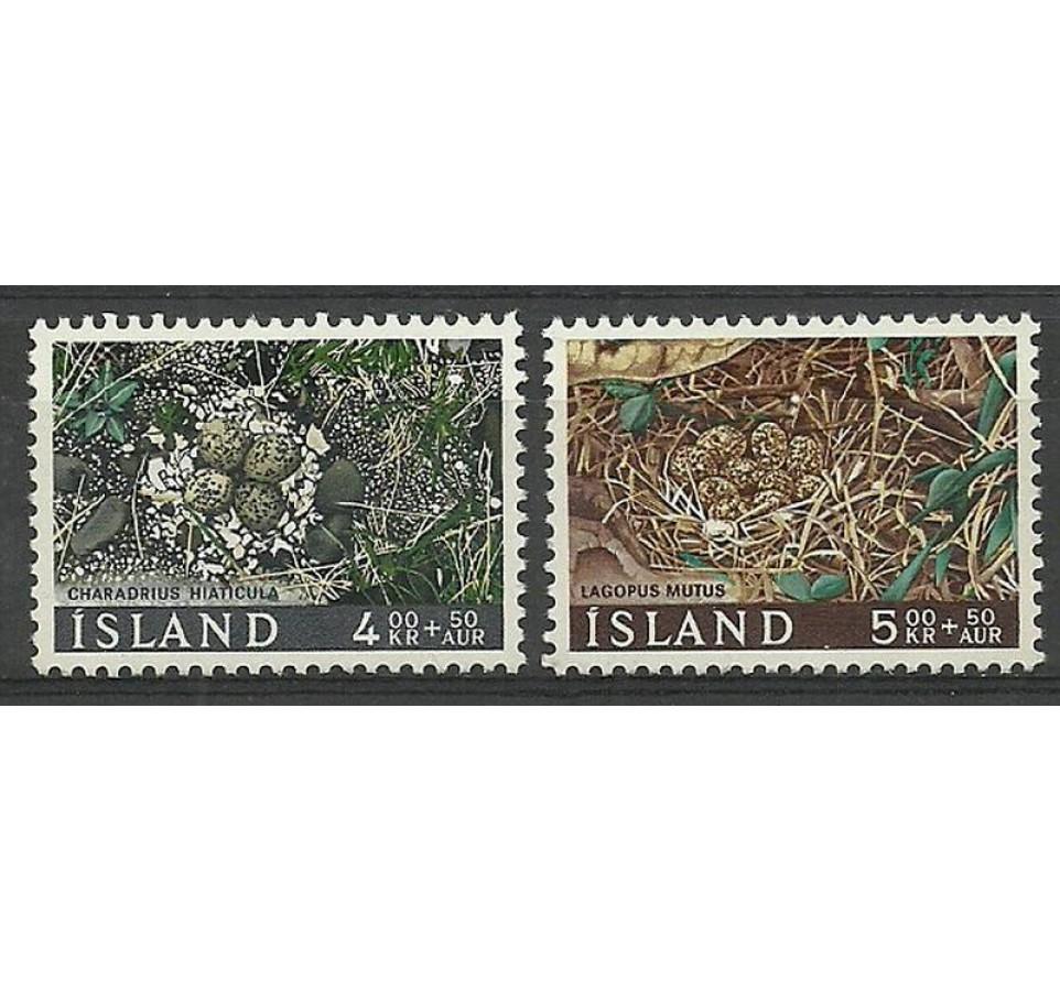 Islandia 1967 Mi 413-414 Czyste **