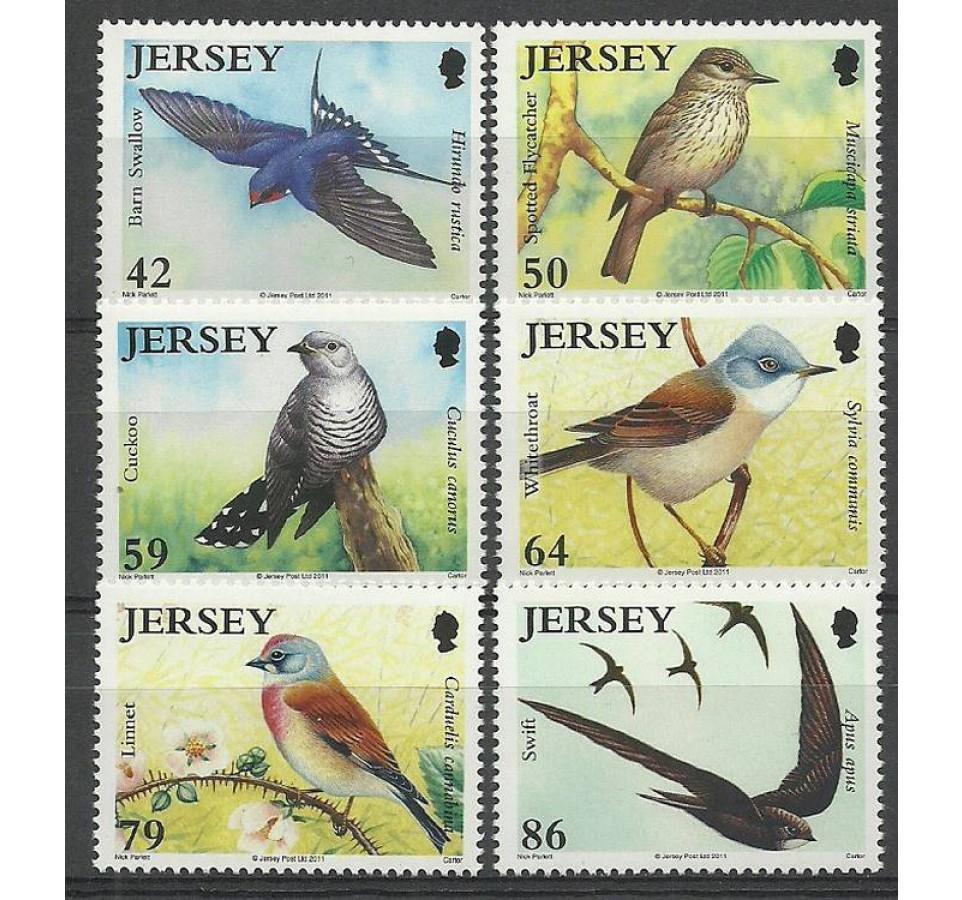 Jersey 2011 Mi 1561-1566 Czyste **