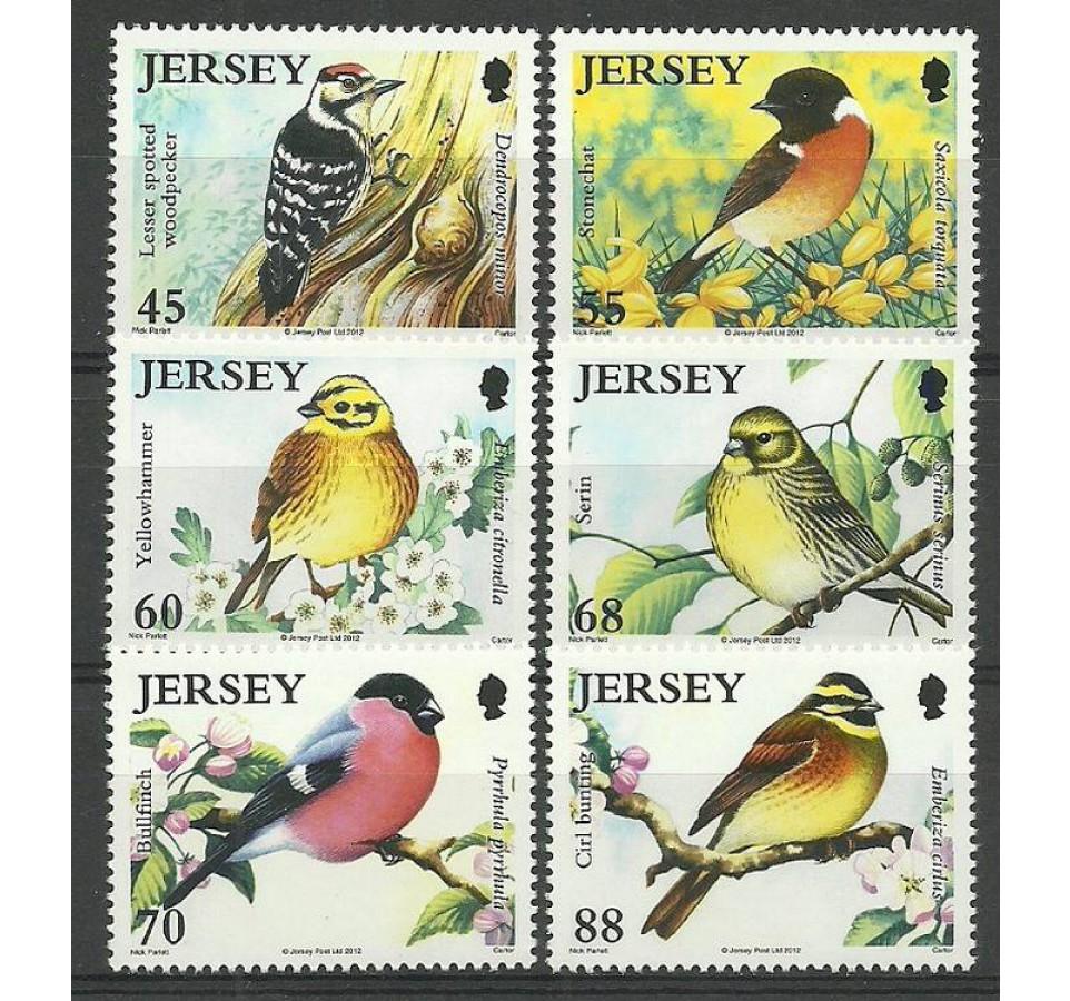 Jersey 2012 Mi 1662-1667 Czyste **