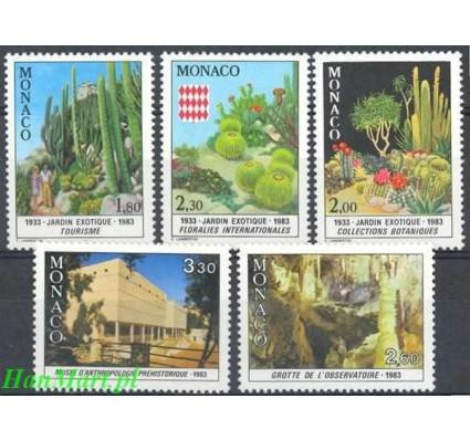 Znaczek Monako 1983 Mi 1571-1575 Czyste **