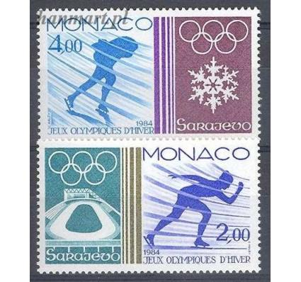 Znaczek Monako 1984 Mi 1616-1617 Czyste **