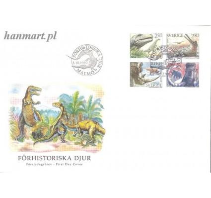 Znaczek Szwecja 1992 Mi 1738-1741 FDC