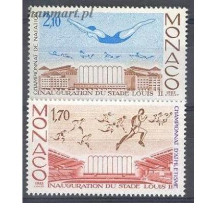 Znaczek Monako 1985 Mi 1697-1698 Czyste **