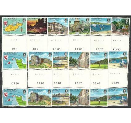 Znaczek Alderney 1983 Mi 1-12 Czyste **