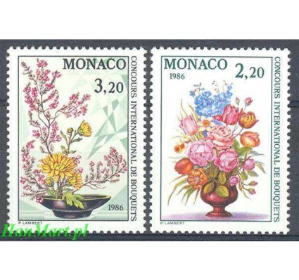 Znaczek Monako 1985 Mi 1718-1719 Czyste **