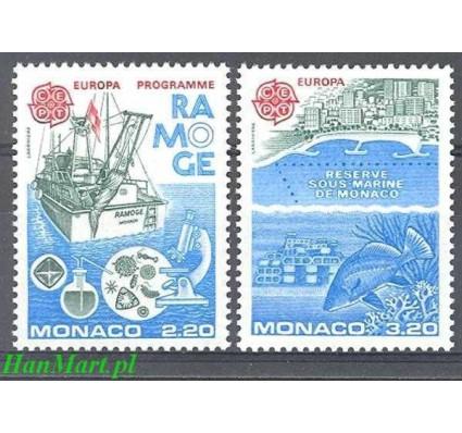 Znaczek Monako 1986 Mi 1746-1747 Czyste **