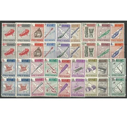 Znaczek Indonezja 1967 Mi 562-577 Czyste **