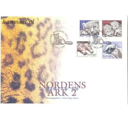 Znaczek Szwecja 1997 Mi 1988-1991 FDC