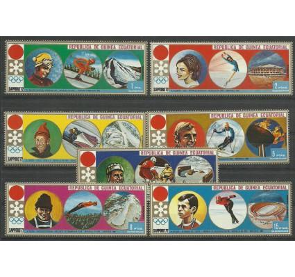Znaczek Gwinea Równikowa 1972 Mi 27-33 Czyste **