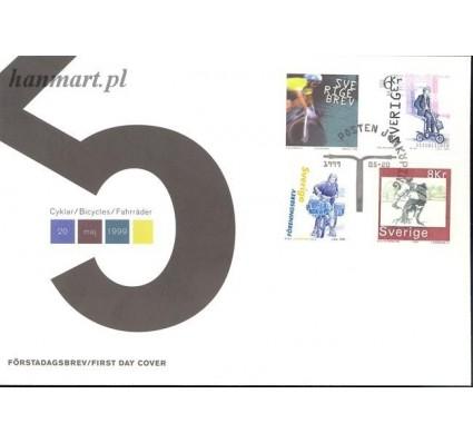 Znaczek Szwecja 1999 Mi 2118-2121 FDC