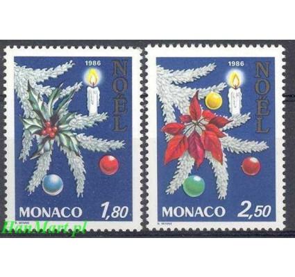 Znaczek Monako 1986 Mi 1779-1780 Czyste **
